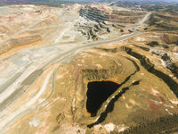 Riotinto mines, Huelva Province, Andalusia, Spain
