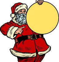 Santa Claus character, Christmas and New year