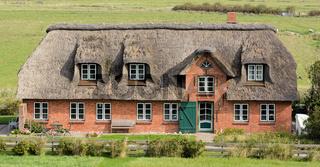 Bauernhaus auf der Eiderstedt Halbinsel,Nordfriesland,Deutschland