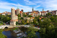Bautzen. Germany. The historic center of the old town.