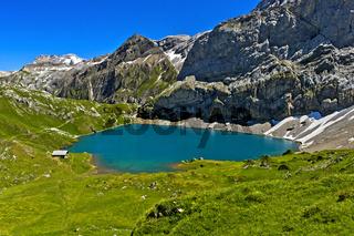 Bergsee Iffigsee, Lenk, Schweiz