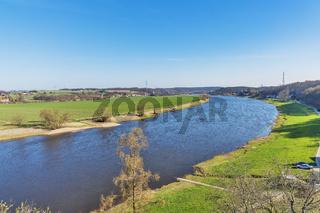 Fluss Elbe, Sachsen | Elbe River, Saxony