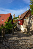 Bautzen. Germany. The streets of the old town.