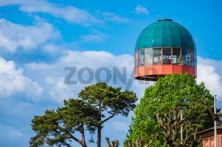 Modernes Cafe in Zinnowitz auf der Insel Usedom