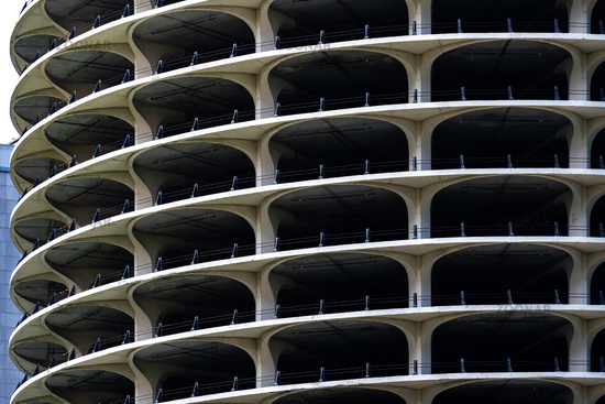 Parking lot building