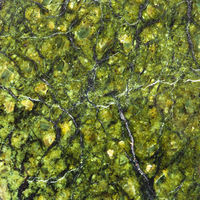 square background from natural serpentinite stone