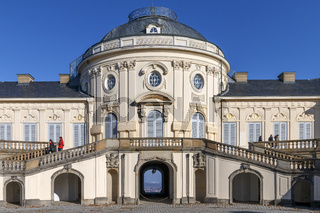 Schloss Solitude, Hauptgebäude
