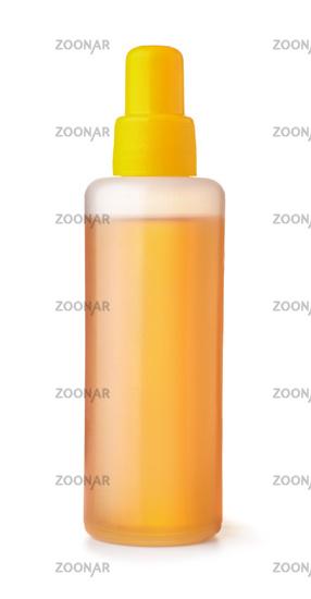 Plastic bottle of universal lubricant oil