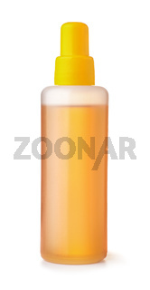 Plastic bottle of universal lubricant oil
