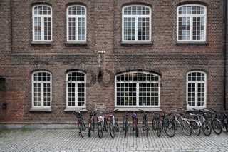 Historische Fabrikgebäude in Trondheim