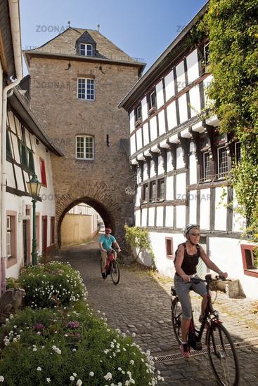 Shepherd's Tower in the old town, Blankenheim, Eifel, North Rhine-Westphalia, Germany, Europe