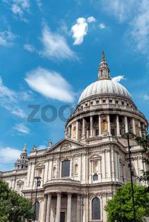 Die berühmte St. Paul´s Kathedrale in London