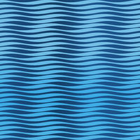 Seamless sea waves texture in blue tones.