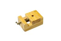 Small wooden vise.