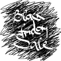 Promotional poster for Black Friday Sale promo