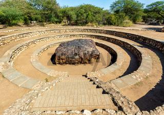 The Hoba meteorite, Grootfontein Namibia