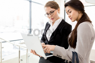 Informal Working Meeting at Office Lobby