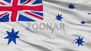 Australia Naval Ensign Flag Closeup