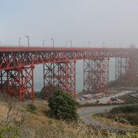 san francisco the famous  golden bridge