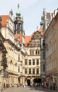 Residenzschloss , Dresden, Sachsen, Deutschland
