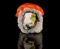 Single sushi roll Philadelphia