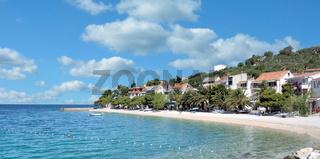 Urlaubsort Bratus an der Makarska Riviera,Adria,Dalmatien,Kroatien