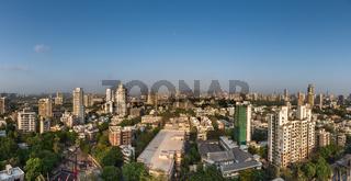 Mumbai city overlooking Sion  Dharavi
