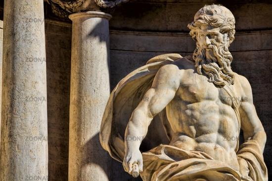 Trevi Fountain, Oceanus
