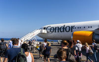 Airplane of Condor on Crete