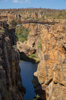 Bridge at Bourke Luck Potholes, Blyde River Canyon, South Africa