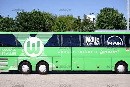 Team bus VFL Wolfsburg