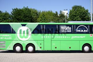 Mannschaftsbus VFL Wolfsburg