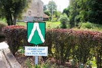 HERMELANGE JONCTION DES DEUX SARRE France