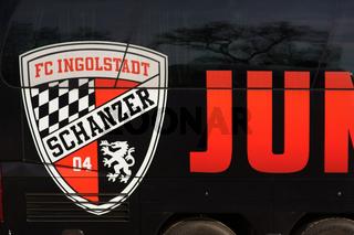Mannschaftsbus FC Ingostadt 04