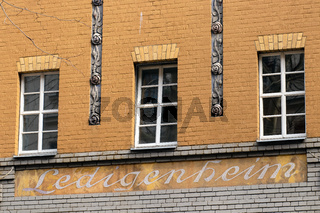 Ledigenheim in Berlin. Deutschland
