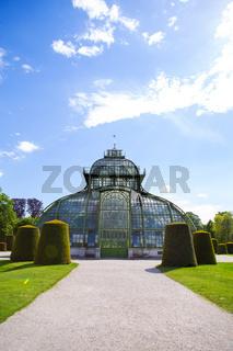 The famous Sch nbrunn Park in Vienna Austria. Travels.