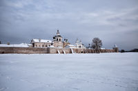 Kirillo-Belozersky monastery in winter