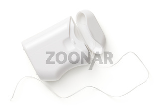 Dental Floss Container Isolated On White Background