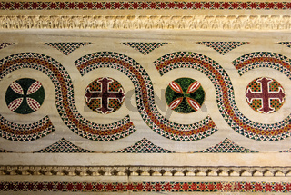 Arabic-style marble mosaics - Palermo