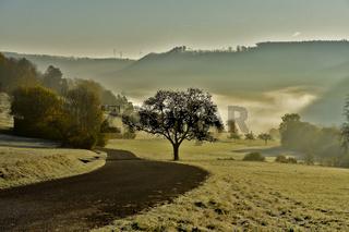Herbststimmung auf der Schwäbischen Alb