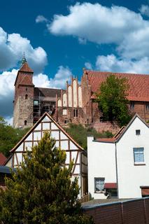Blick auf die Altstadt von Havelberg