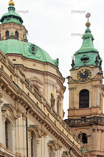 Church St.Nikolaus in Prague