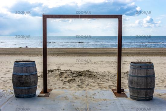 Art Gate at the seaside