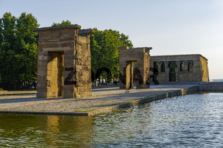 Madrid Spain Temple of Debod.