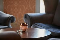 Luxurious vintage room