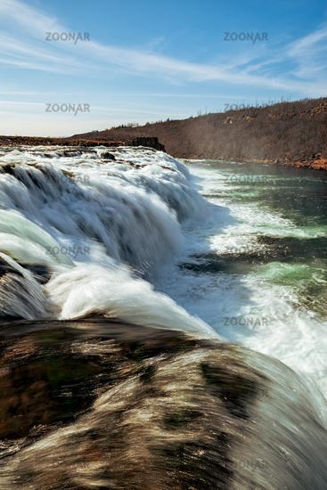 Faxafoss waterfall, Iceland