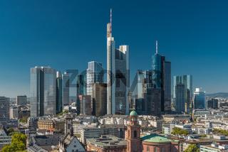 Skyline Bankenviertel Frankfurt