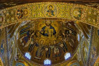 Dome Cappella Palatina - Palermo