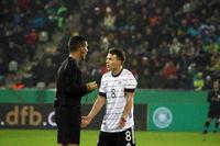 Fussball: U21 EM-Quali Deutschland - Belgien in Freiburg