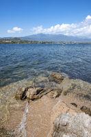 Wild coast of Figari, Corsica, France